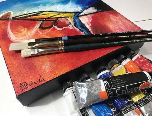 Peinture à l'huile soluble à l'eau Cobra : Vidéo démonstration