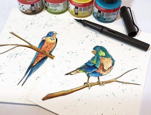 Choisir sa plume à l'encre pour dessiner