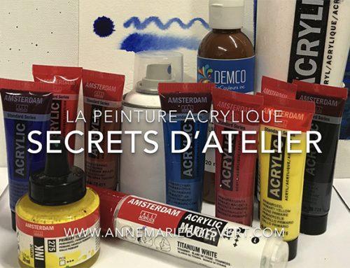 La peinture acrylique, secrets d'atelier