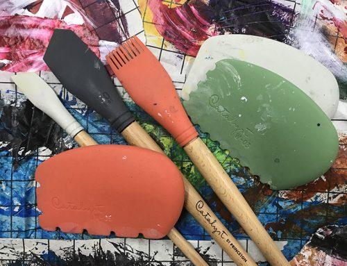 Peindre avec des ciseleurs Catalyst de Princeton