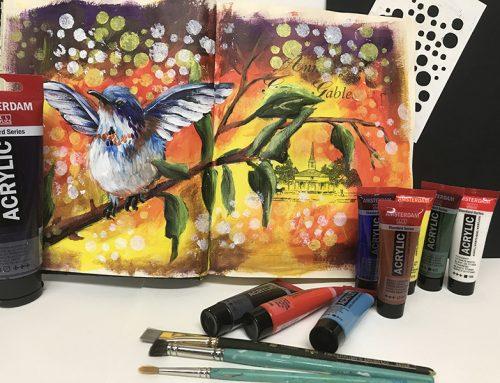 Livre revitalisé, journal d'artiste